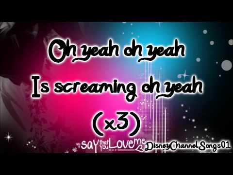 Big Time Rush - Oh Yeah With Lyrics