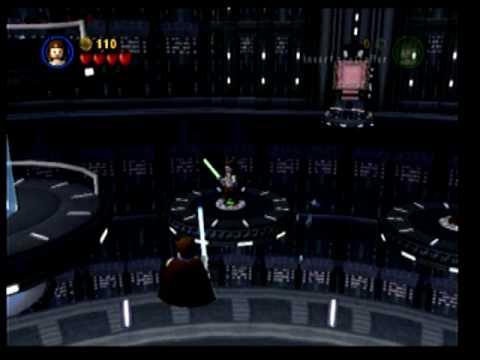 Lego Star Wars The Complete Saga Walkthrough Episode 1 Chapter 6 Darth ...