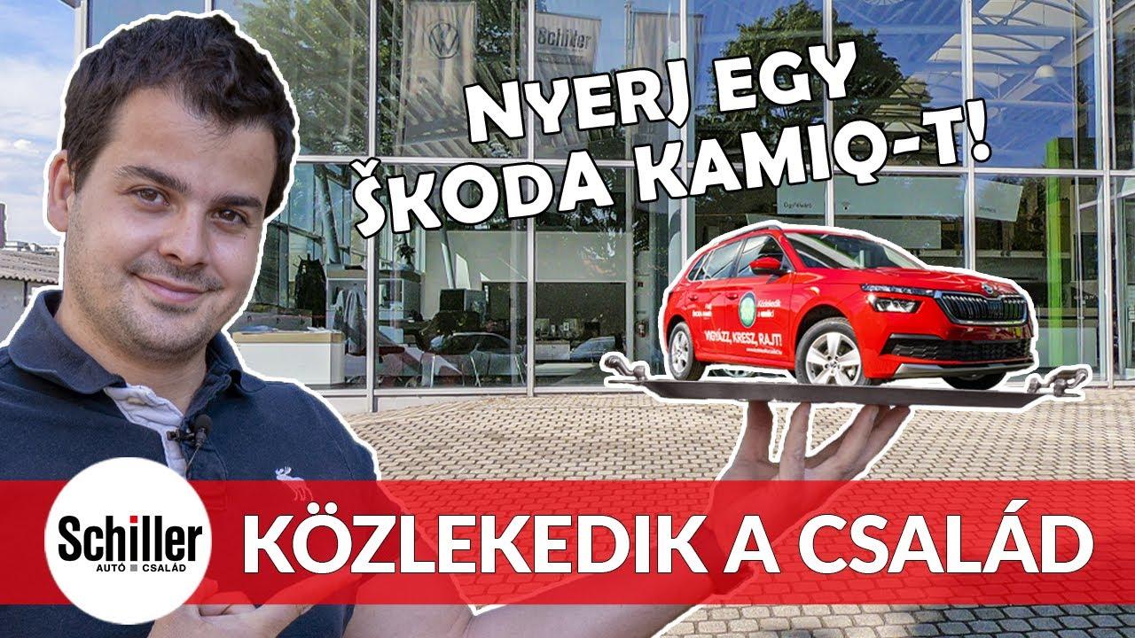 Közlekedik a család!   Vigyél haza egy ŠKODA KAMIQ modellt!   Bemutató