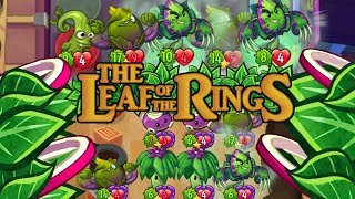 Pretty much the BEST Leafy Deck with Rings - Pvz Heroes