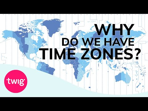 Geography Lesson Idea - Time Zones