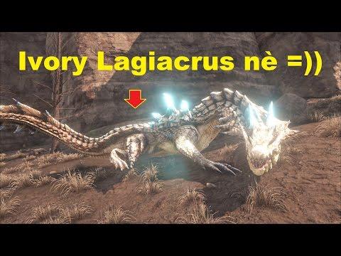 ARK: The Center #16 - Bắt được Rồng nước khổng lồ Ivory Lagiacrus =))