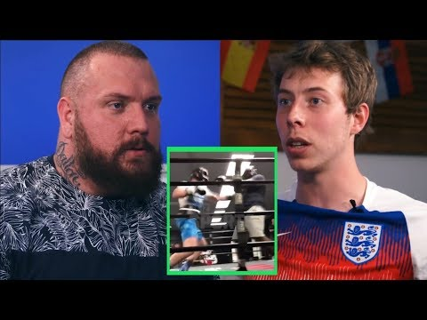 True Geordie and Calfreezy on Logan Paul sparring video