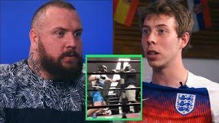 True Geordie and Calfreezy on Logan Paul sparring video