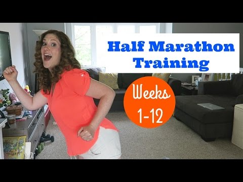 How I'm Training for a Half Marathon | Weeks 1-12