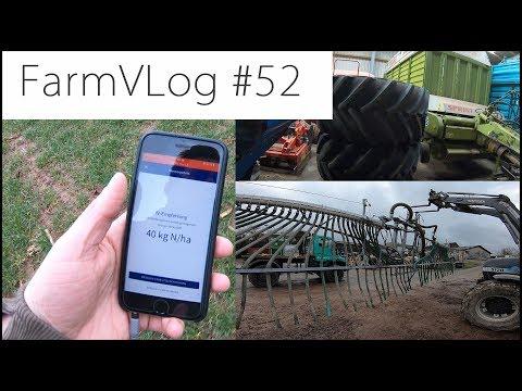 FarmVLOG#52: Stickstoffbedarf mit der Handykamera [Yaralrix App] und ein paar Neue Sachen