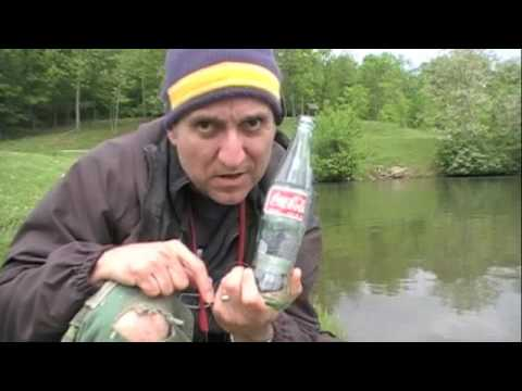 Coke Bottle Fishing Reel