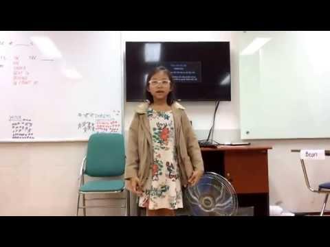 STARTERS 2I (5-11-2016): Luyện nói MY CITY