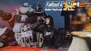 Fallout 4 Modded playthrough with Gundam #4 (over 200 mods)  Story time