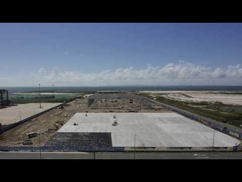 Silk Contract Logistics Warehouse Construction Timelapse