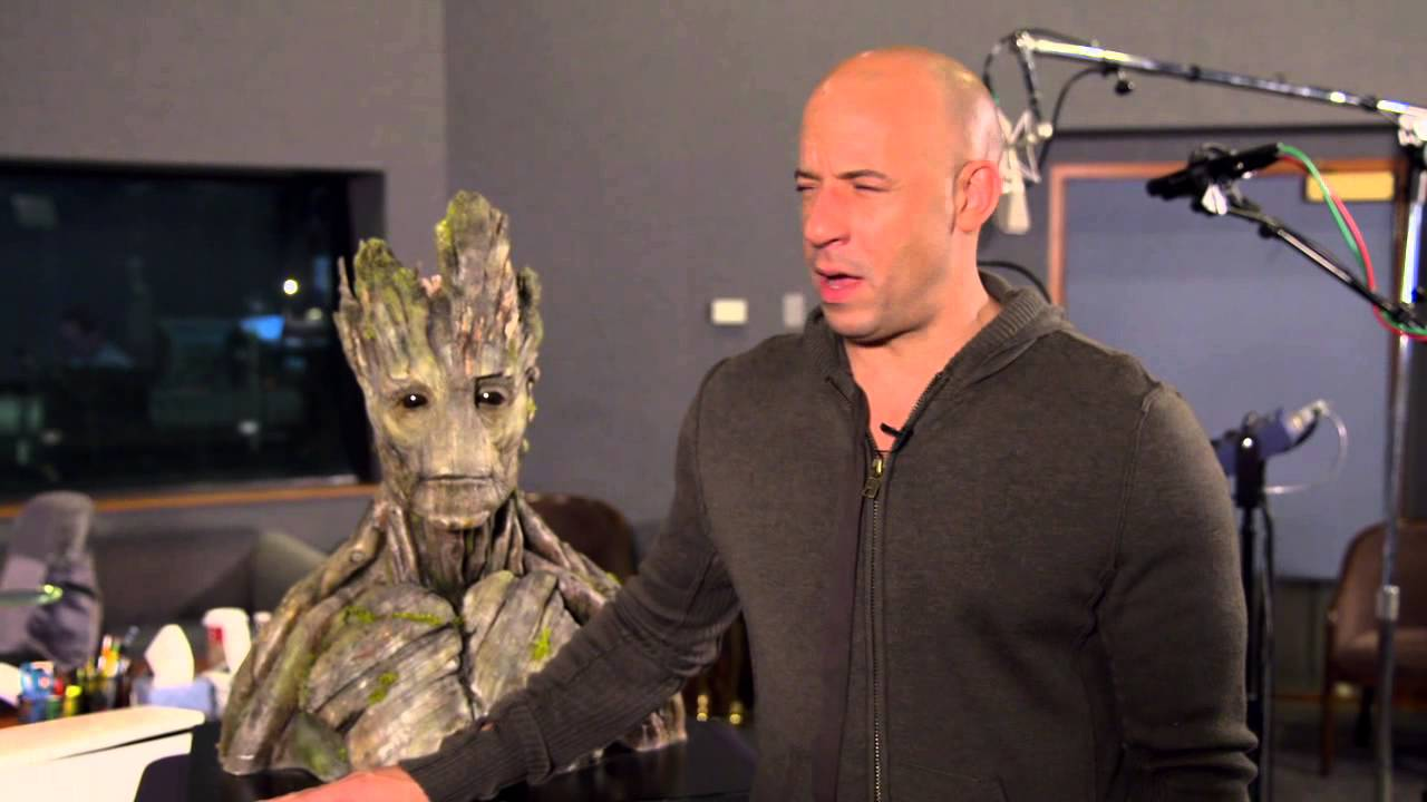 Marvel's Guardians of the Galaxy: Vin Diesel Behind the ...