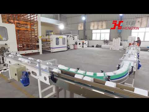 2.8meter high speed toilet paper with color glue lamination production line