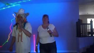 Mad dog karaoke singing  DUET COCO JAMBO