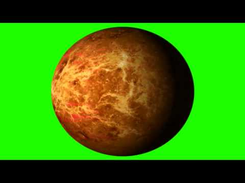 Mars Rotate - Green Screen Animation - Free  Footage