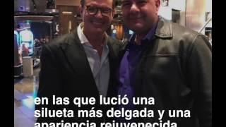 Luis Miguel reaparece más delgado y joven en fotos publicadas por seguidores