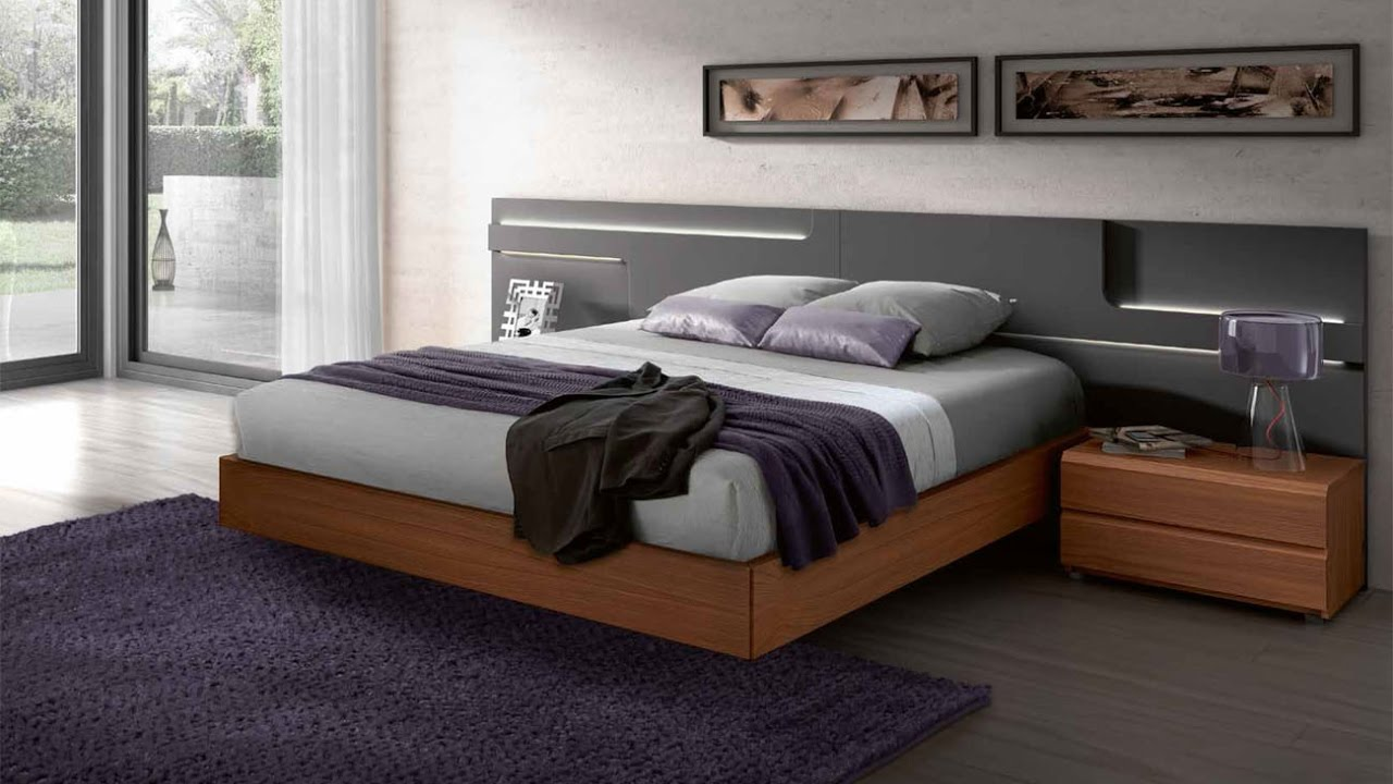 Modern wooden bed frame - Contemporary Wooden Beds Frame Designs