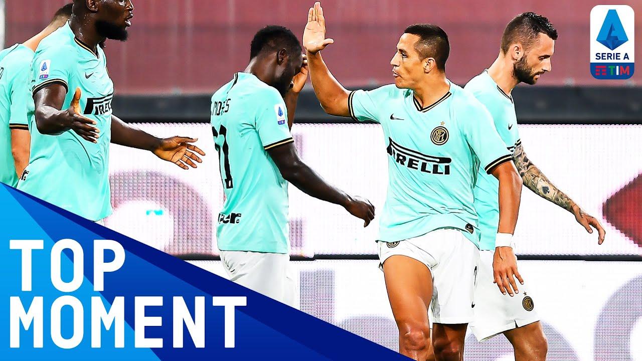 Alexis Sanchez Doubles Inter's Lead! | Genoa 0-3 Inter | Top Moment | Serie A TIM