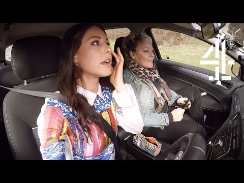 Louise Thompson Does Her Makeup While Driving | Driven to Distraction