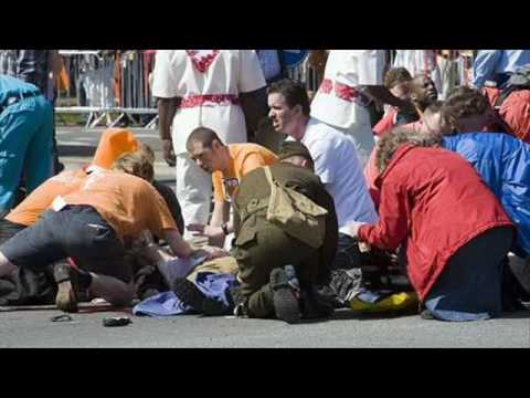 koninginnedag queensday holland 2009 car attack apeldoorn
