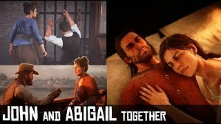Uncle Causes Abigail To Cry At The Mention of Arthur Plus More Interesting Interactions - RDR2