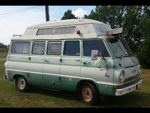 1969 Dodge A108 Camper Van by Travco