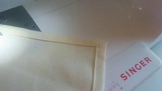 Canto Mitrado – Ideal para fazer pano de prato, guardanapos e toalha de mesa