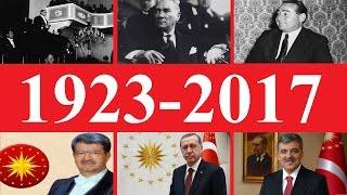 Türkiye Cumhuriyeti kronolojik tarihi (1923-2017)