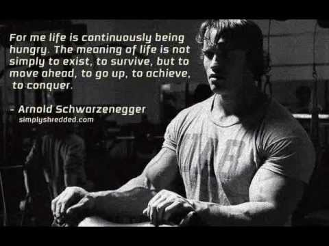 Pumping Iron-Arnold Schwarzenegger Motivational Video ...