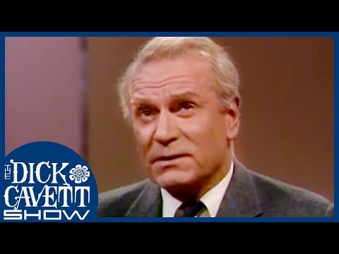 Sir Laurence Olivier Felt Uncomfortable About His Lordship | The Dick Cavett Show