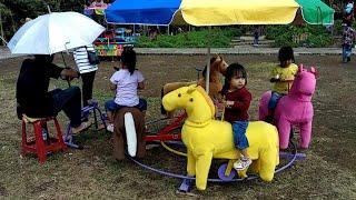 Naik odong-odong di wisata BATU MAHPAR seru banget
