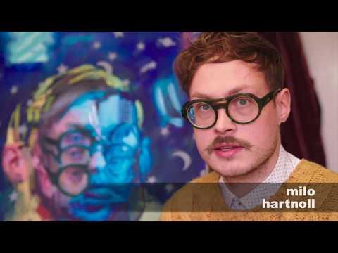 In the Artist Studio Episode 3 Milo Hartnoll