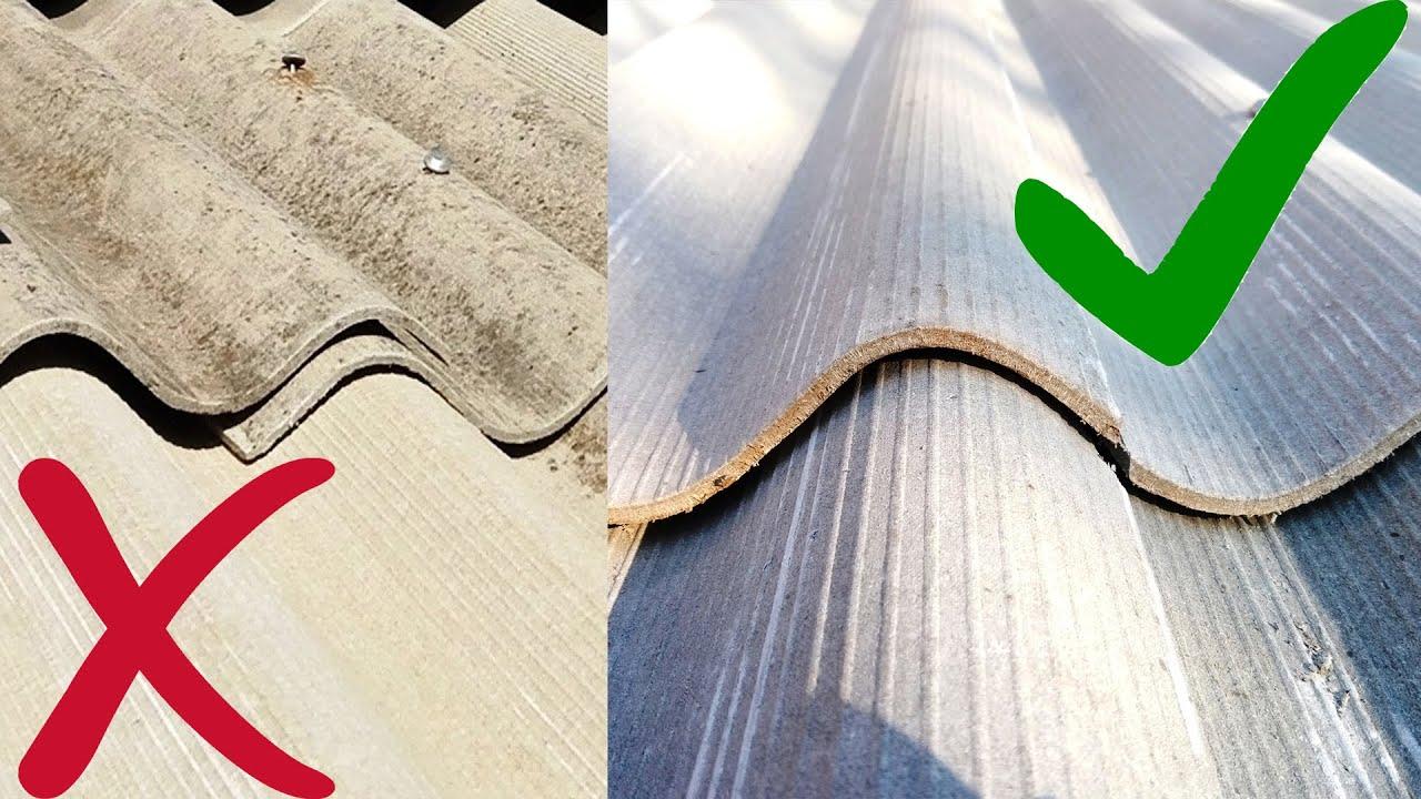 Как подрезать ШИФЕР при укладке | Плотно ровно и красиво