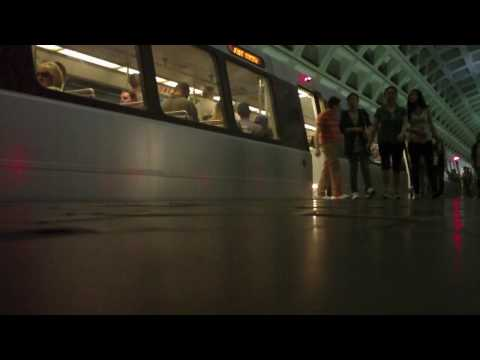 Washington DC Metro Rail.