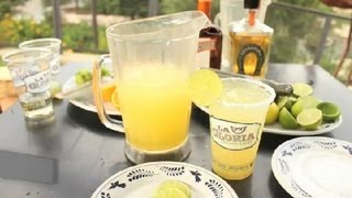 How To Make A Pitcher Of Margaritas On The Rocks : Texas Flavors