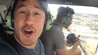 MARKIPLIER IN A HELICOPTER!! Happy 8 Million Subs! :D
