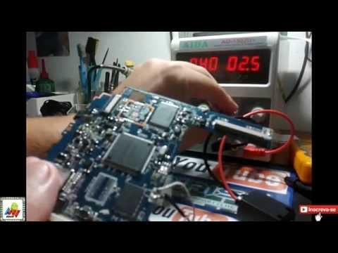 Tablet DL Identificando Curto na Placa