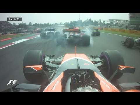 2017 Mexico Grand Prix: Best Onboards