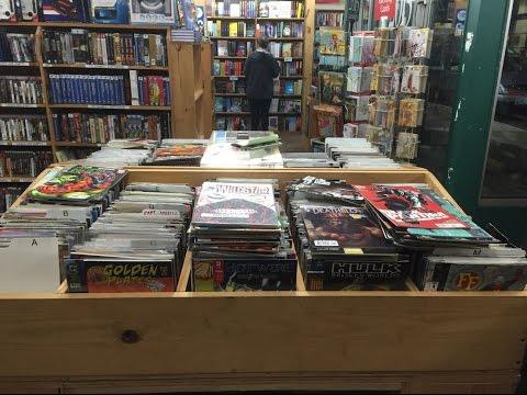 Half Price Books Comic Book Haul 4 (Seattle Hunting I)