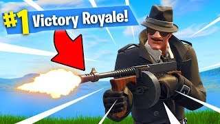 SEARCHING FOR THE DRUM GUN OF FUN!! Fortnite: Battle Royale
