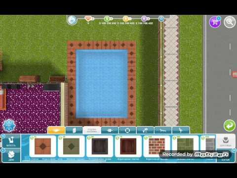 Как сделать бассейн в симс фриплей