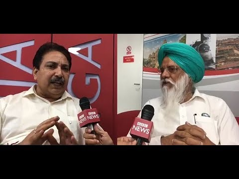 Farmer and Expert on Stubble Burning in Punjab