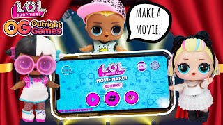 LOL Surprise Movie Maker Game Make Your Own LOL Movies Outright Games