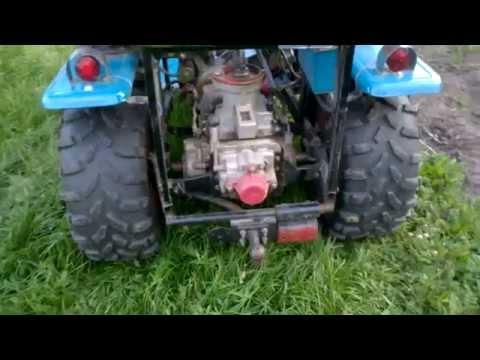 видео: Самодельный минитрактор из мотоблока. Обзор конструкции.