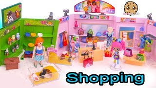 Pet Shop, Sport Store and Clothing Shopping Center with Blind Bags + Shoppies