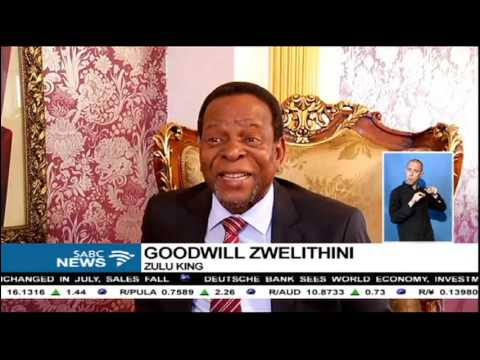Zulu King Goodwill Zwelithini condemns property destruction at UKZN
