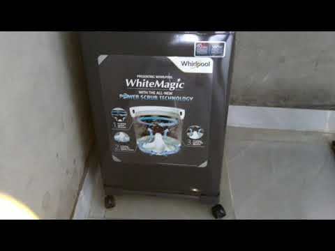 Whirlpool washing full automatic machine review and unboxing