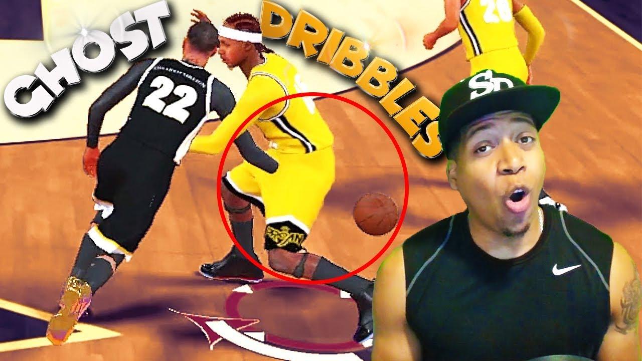 GHOST DRIBBLING? Playmaking Shot Creator Update - NBA 2K18