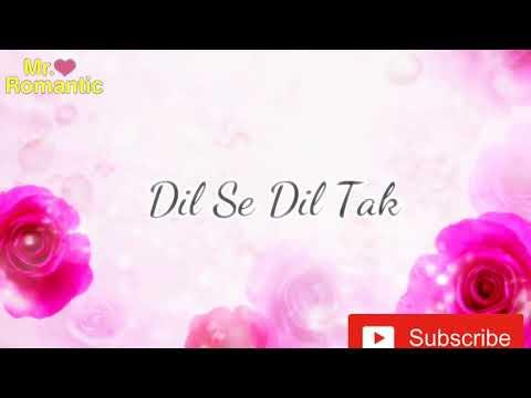 Dil se dil tak NEW FULL FEMALE Version song lyrics From Dil se dil tak colors TV