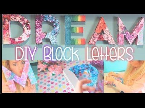 3d Letter Diy.Diy Crafts 3d Letters Room Decor How To Make 3d Cardboard Letters