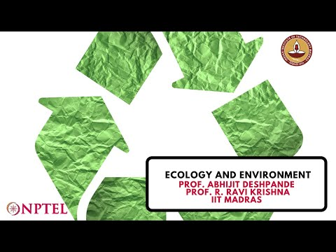 Ecology and Environment - Course